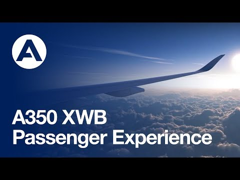 Feel the space on board the A350 XWB