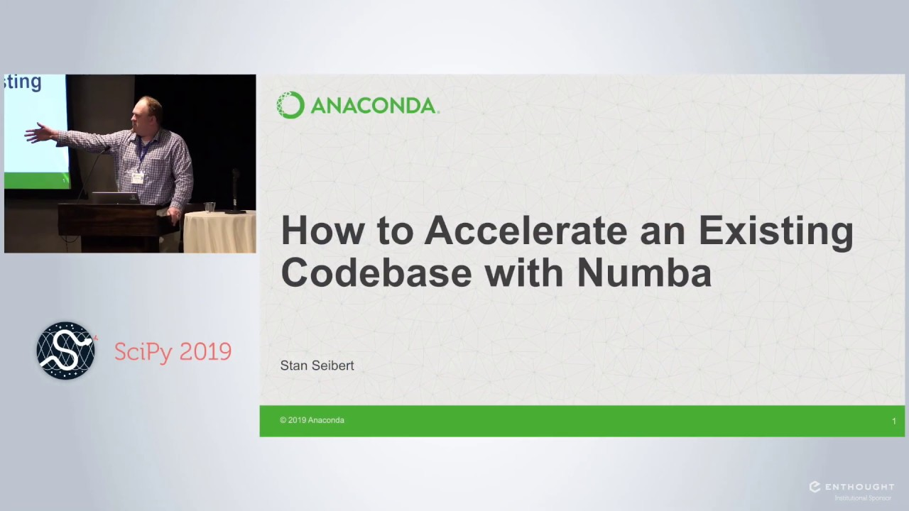 Image from How to Accelerate an Existing Codebase with Numba