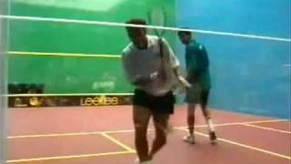 squash jansher khan british open 1996 final 1of 2 by a s i r a f t a b