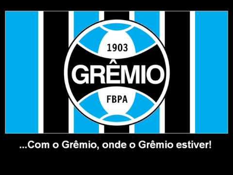 Hino do Grêmio - Hinos de Futebol - Cifra Club d7a4f3868a485