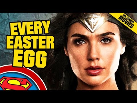 WONDER WOMAN - All Easter Eggs, Cameos & References