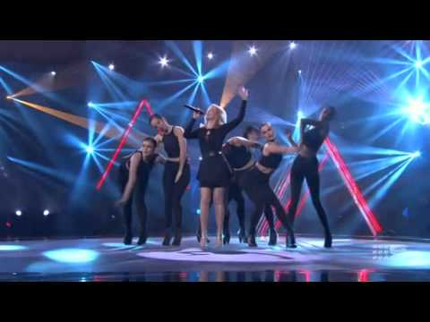 Kylie Minogue - Sexy Love & Love At First Sight (The Voice Australia 30.06.2014)