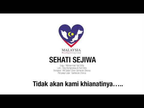 Lirik Melayu Alif Satar Sehati Sejiwa