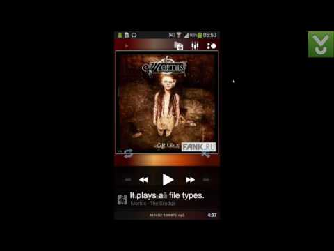 PowerAMP MusicPlayer - Play all types of audio files on Android - Download Video Previews
