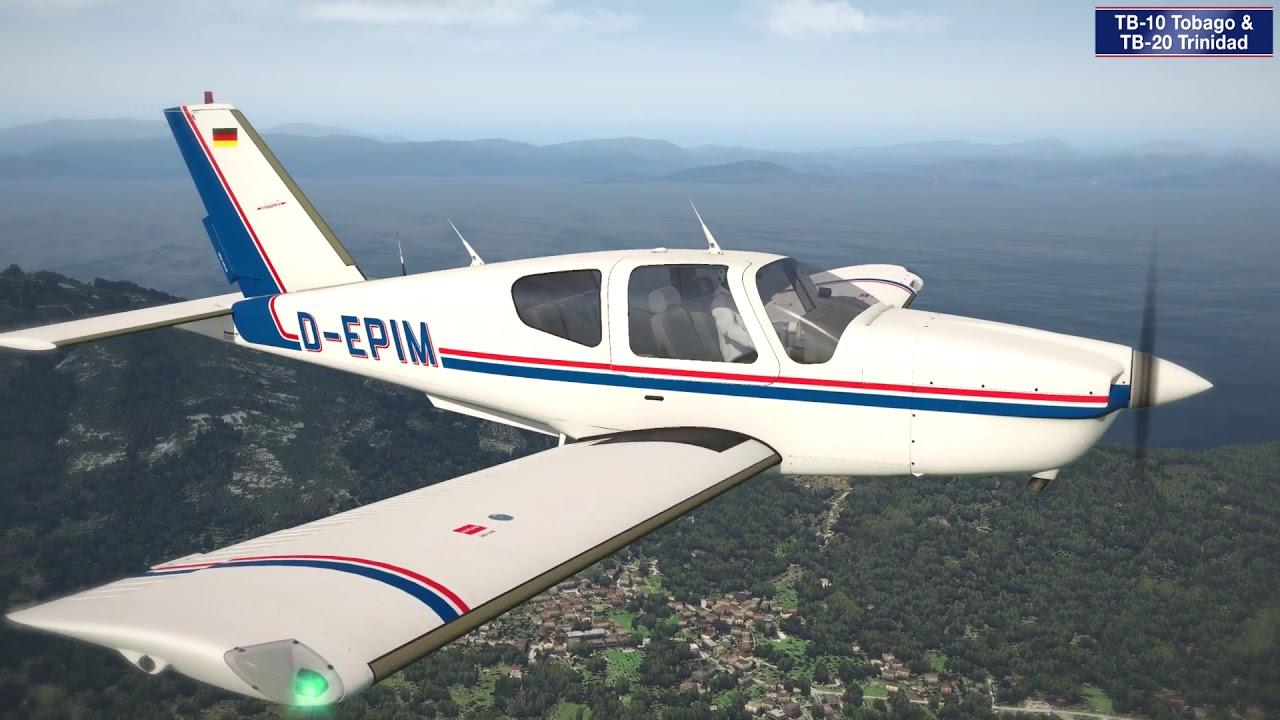 Just Flight - TB-10 Tobago & TB-20 Trinidad (for X-Plane 11)