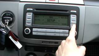 VW RCD 300 with 4 speakers full in depth review and testing sound quality