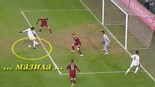 Форвард Сборной Казахстана по футболу ПРОМАХНУЛСЯ, запутался в своих ногах