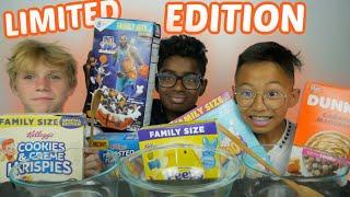 Exotic Limited Edition Cereal *Taste Test* | N.E Let's Eat