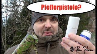 Mace Pfefferpistole im Test | Selbstverteidigung