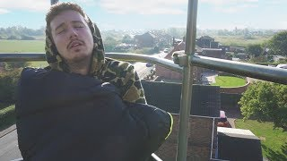 Video I Spent the Night on a Crane 100 Feet in the Air & It Was so Scary (Night in the Sky Challenge) download MP3, 3GP, MP4, WEBM, AVI, FLV Oktober 2018