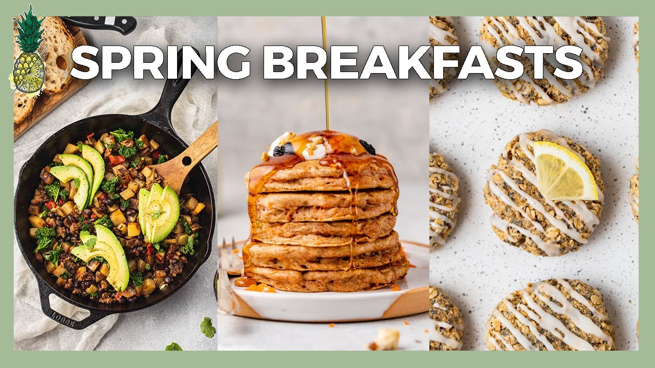 Tasty Spring Breakfast Ideas (Easy + Vegan)