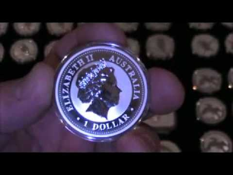 The Silver Bullion Kookaburra(1)