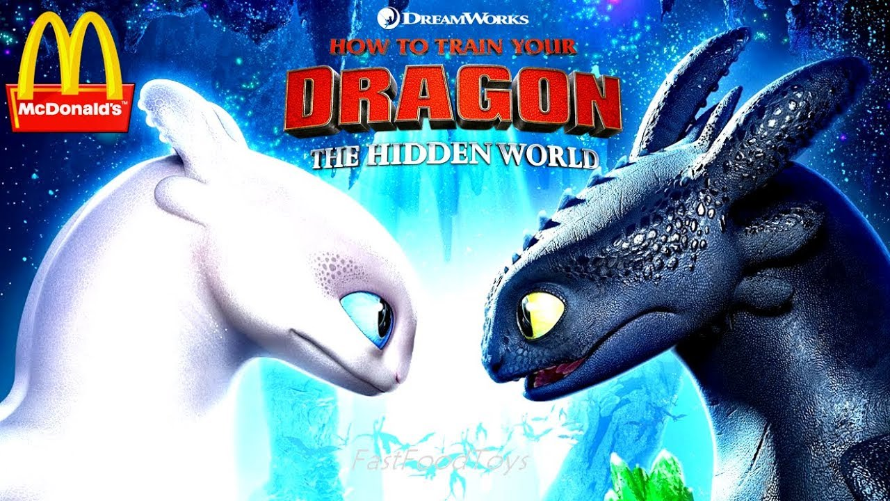 2019 Mcdonald S How To Train Your Dragon 3 Hidden World Happy Meal Toys Next Lego Movie 2 Full Set Youtube
