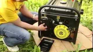 Бензиновая электростанция HUTER DY 6500LX(Интернет-магазин ЛидерСтройИнструмент http://лидерстройинструмент.рф предлагает купить в Уфе