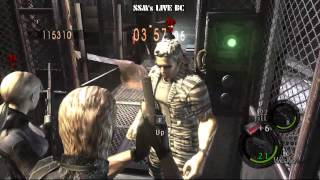 Resident Evil 5 4 Players Co-op Mercenaries - Experimental Facility