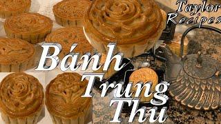 Bánh Trung Thu nhân thập cẩm mềm xinh và rất là ngon - Traditional Mooncakes - Taylor Recipes
