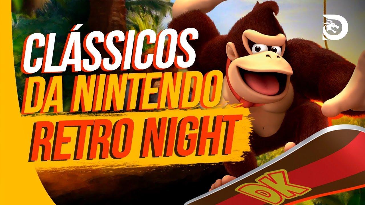 Clássicos do Super Nintendo - RETRO NIGHT #1