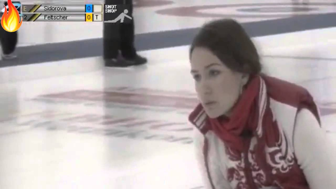 Hot Sports Star Anna Sidorova from Curling - YouTube
