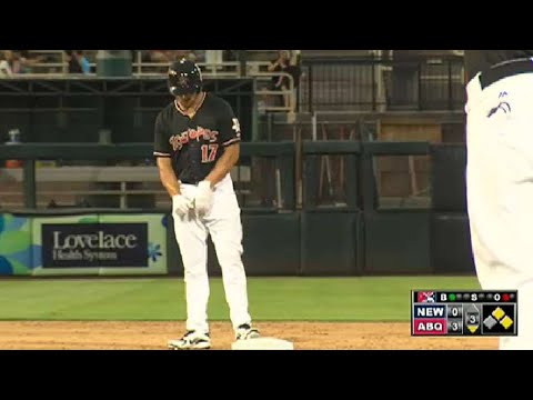 Holliday delivers two-run double for 'Topes