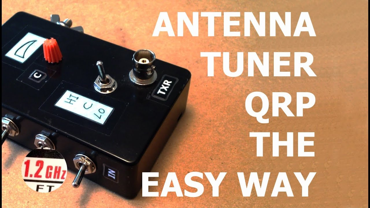 Antenna Tuner, QRP, Compact, the easy way