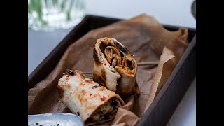 Tortilla Wraps Sandwich