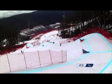 Women's snowboard cross Run 2  | Snowboard | Sochi 2014 Para