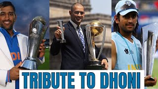 An Emotional Tribute To Dhoni - Captain Cool