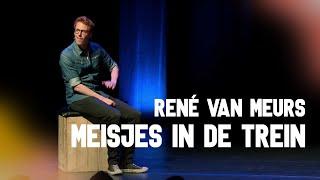 René van Meurs - Meisjes in de trein