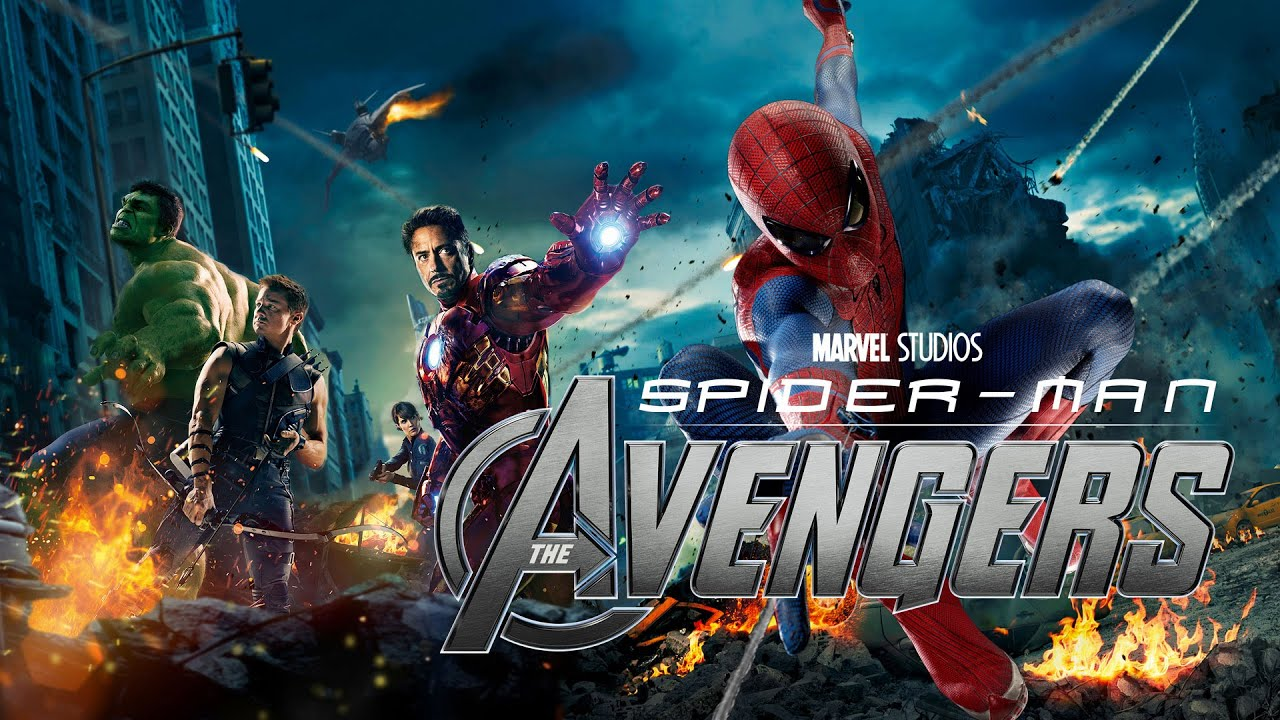 Spider-Man and The Avengers Team Up in This Marvel Movie Mashup - YouTube