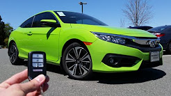 2016 Honda Civic Coupe EX-T: Start Up, Test Drive and Review