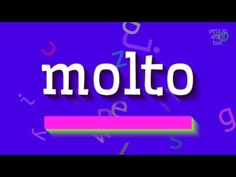 """How to say """"molto""""! (High Quality Voices)"""