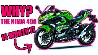 homepage tile video photo for WHY the Kawasaki Ninja 400 is WORTH THE Money