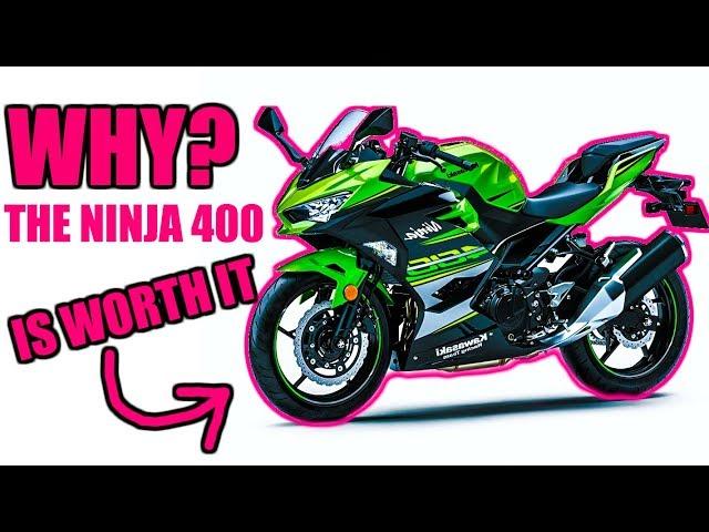 WHY the Kawasaki Ninja 400 is WORTH THE Money