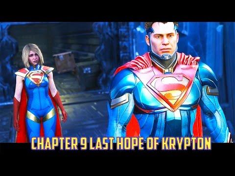 Injustice 2 Chapter 9 Last Hope of Krypton as Supergirl vs Wonder Woman, Nightwing, Black Adam, Supe