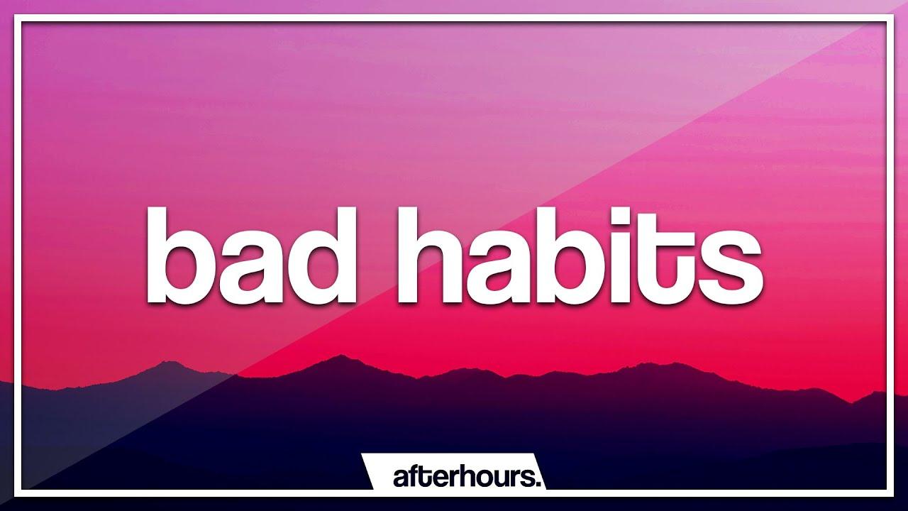 Usher - Bad Habits (Lyrics)