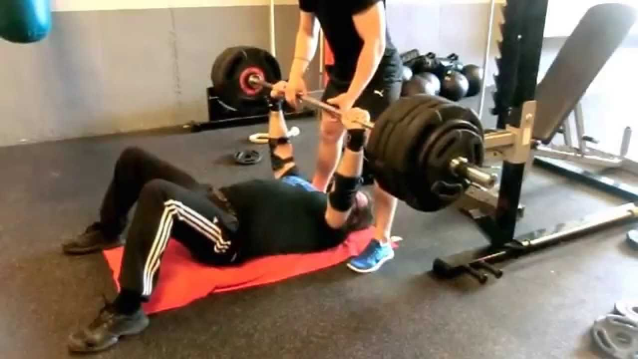 18A | Bench Press@54 years Floor Press
