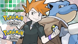 Pokemon FireRed/LeafGreen - Battle! Champion Rival Music (HQ)