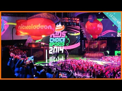 Kids' Choice Sports Awards: Beckham, Pharrell, & More!   LA Day 48