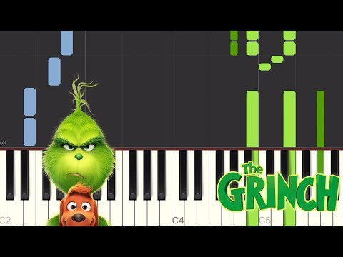 You're A Mean One, Mr. Grinch (From The Grinch) - Piano Tutorials