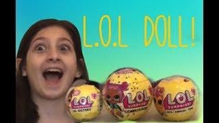 Lol doll! ლოლ სათამაშოს გახსნა!1ნაწილი