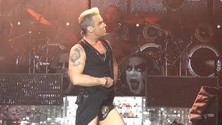 Robbie Williams - We Will Rock You/I Love R&R (Live in Belgrade - Ušće, 17.06.2015) FIRST ROW