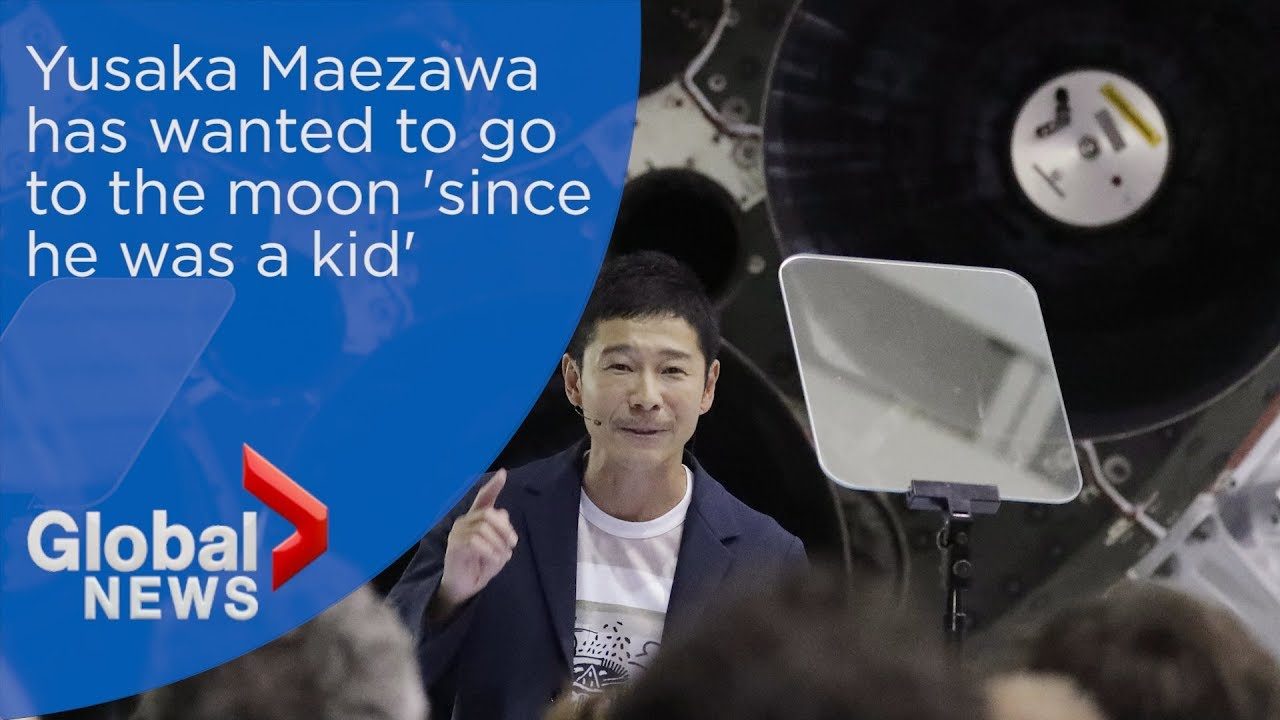 Yusaka Maezawa says he's wanted to go to the moon since he was a kid
