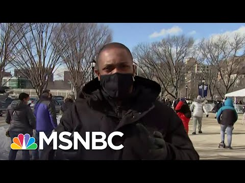 Yankee Stadium Opens For Bronx Residents To Get Covid Vaccine | MSNBC