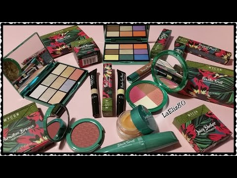 Wycon Exotica - Summer Collection - i miei acquisti e prime impressioni || laEliz80