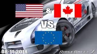 Ridge Racer 7 USA & Canada vs. Europe (Part 1)