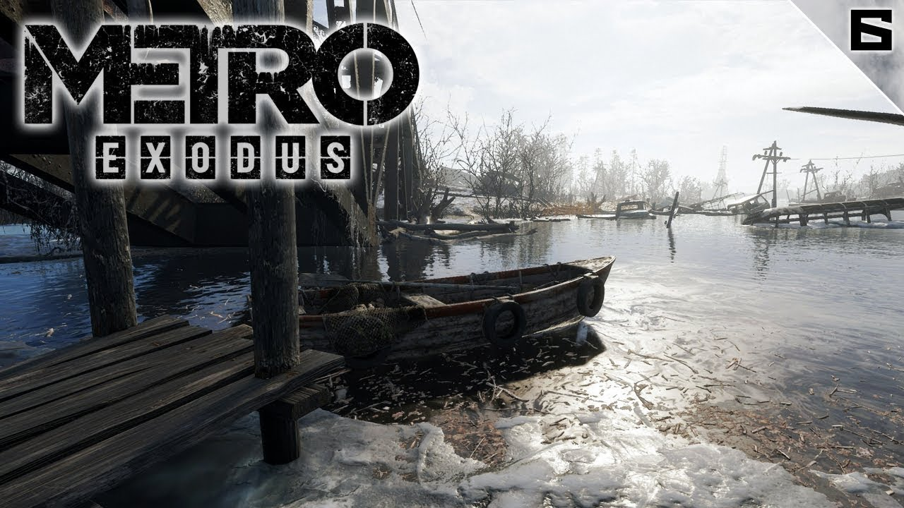 METRO EXODUS #6 | EXPLORANDO EL VOLGA | Gameplay Español