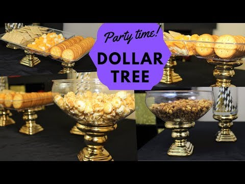 Dollar Tree DIY Snack Party Tray 🎉🎉🎉 How to set your table for a party