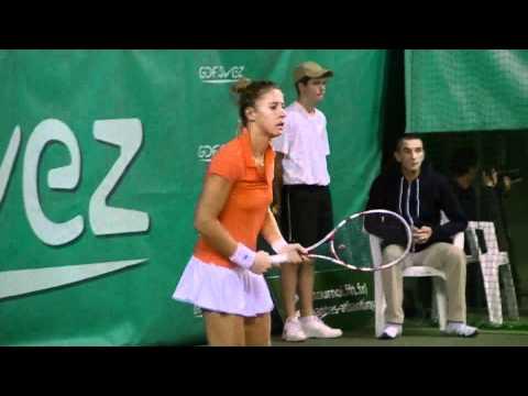 Pauline Parmentier - Open GDF Suez Nantes Atlantique 2011 - 1er Tour