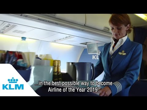 KLM 95 years celebration – Our purser