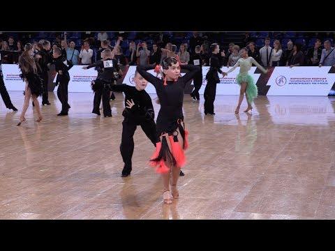 Eduard Gaynatdinov - Sofia Gubina RUS, Cha-Cha-Cha | ROC 2018 WDSF Open Junior I Latin